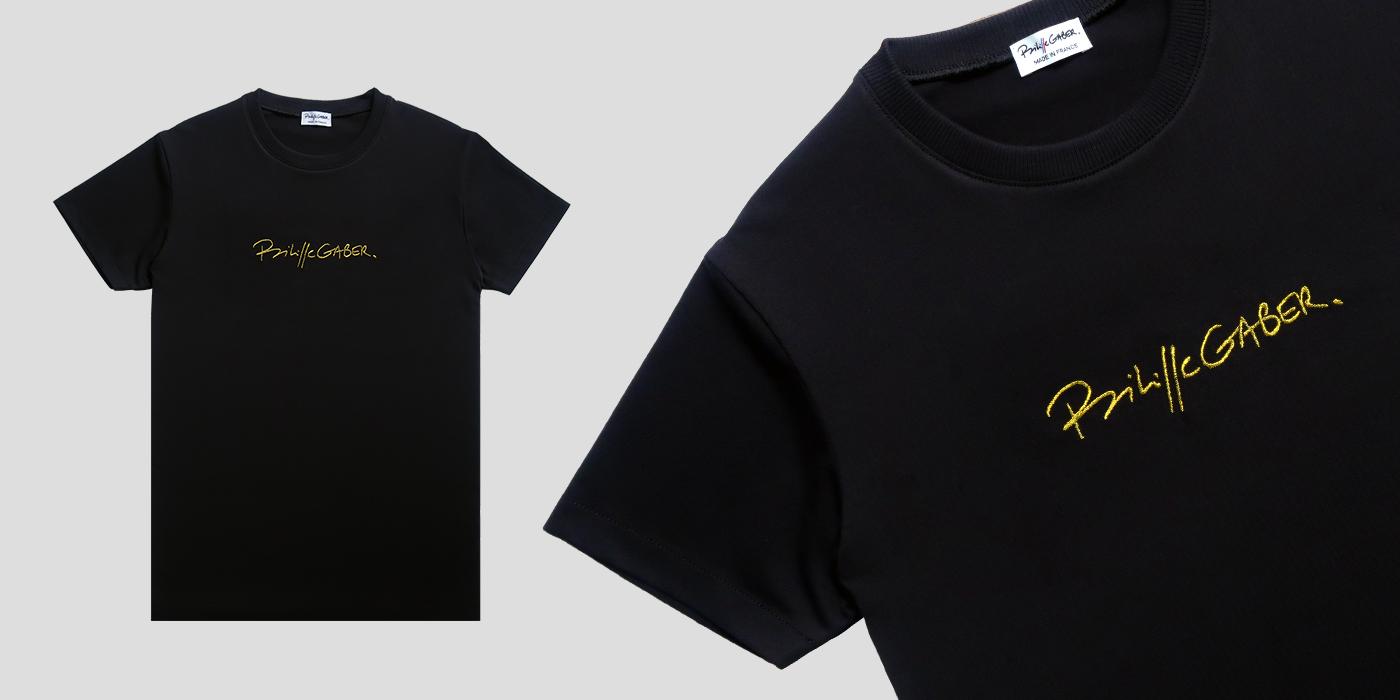 T-shirt bio et Made in France  t-shirt bio coton biologique Gots fabriqué à Paris depuis 2009 pour l'homme et la femme| PhilippeGaber